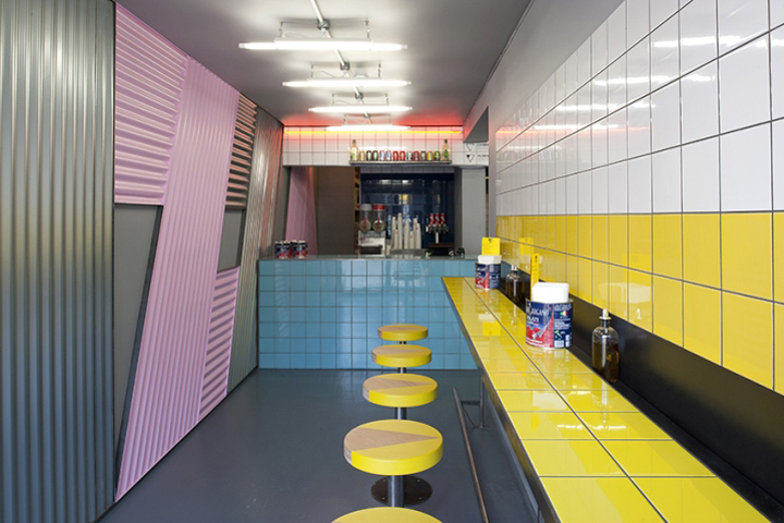 Pizza Parlor Kitchen shipping container » retail design blog
