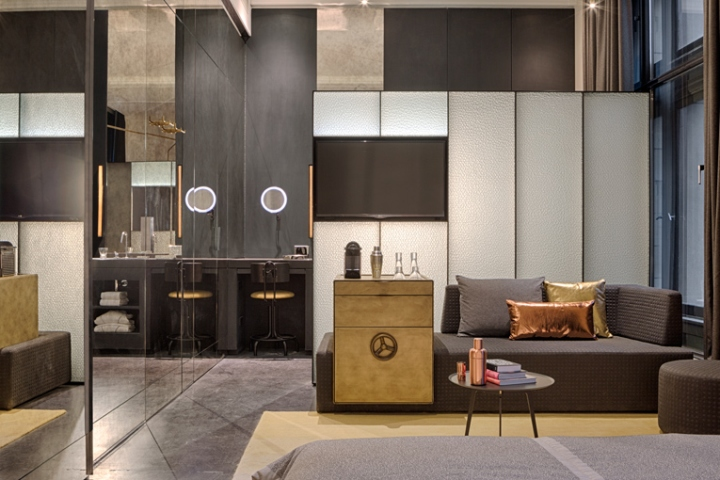 w amsterdam hotel by office winhov baranowitz. Black Bedroom Furniture Sets. Home Design Ideas