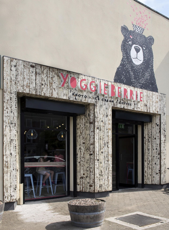 Yoggieberrie café by terry design belfast northern