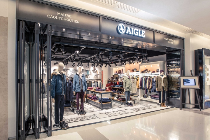 Aigle Globetrotter Store Hong Kong 187 Retail Design Blog