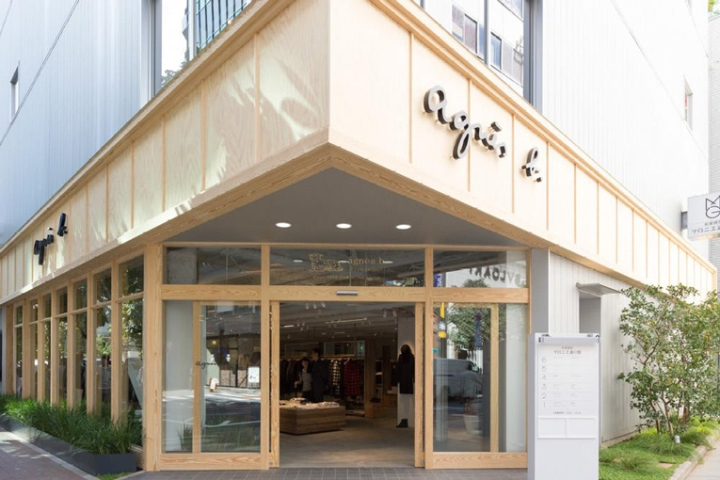 agn s b matsuya ginza rue du jour store by suppose design office tokyo japan retail design. Black Bedroom Furniture Sets. Home Design Ideas