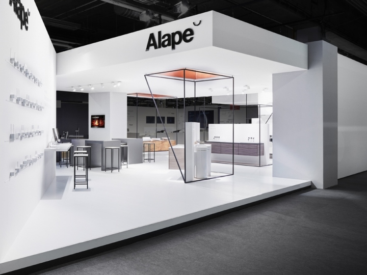 187 Alape Stand By Heine Lenz Zizka Projekte At Ish