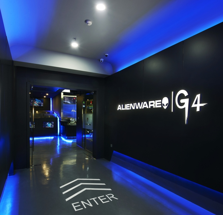 » Alienware+G4 Internet café by Gramco, Ningbo – China