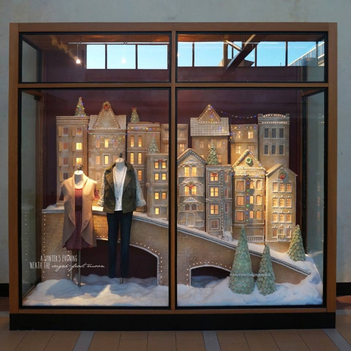 Anthropologie Holiday 2015 Windows Sugared Amp Spiced