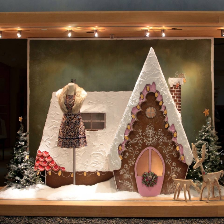 """» Anthropologie """"Sugared & Spiced"""" Holiday 2015 Windows"""