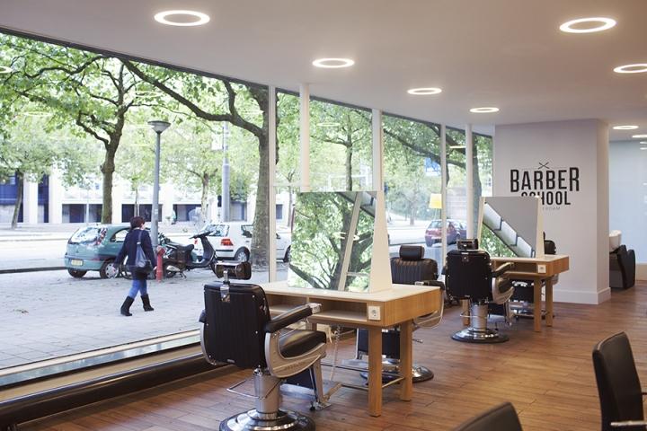 Barber School Amsterdam By Studiomfd Netherlands