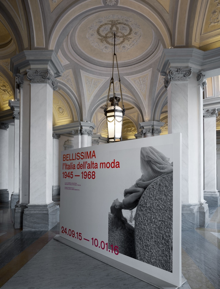 At the entrance of the exhibition (held on the second floor of the Villa),  a beautiful gallery of old photographs lures visitors into the fashion  trends of ...