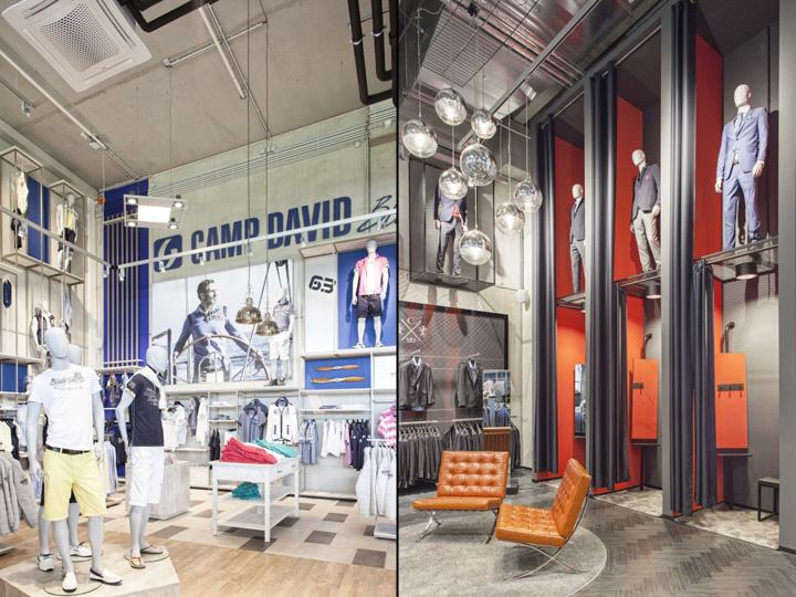 camp david soccx flagship store by susanne kaiser berlin germany retail design blog. Black Bedroom Furniture Sets. Home Design Ideas