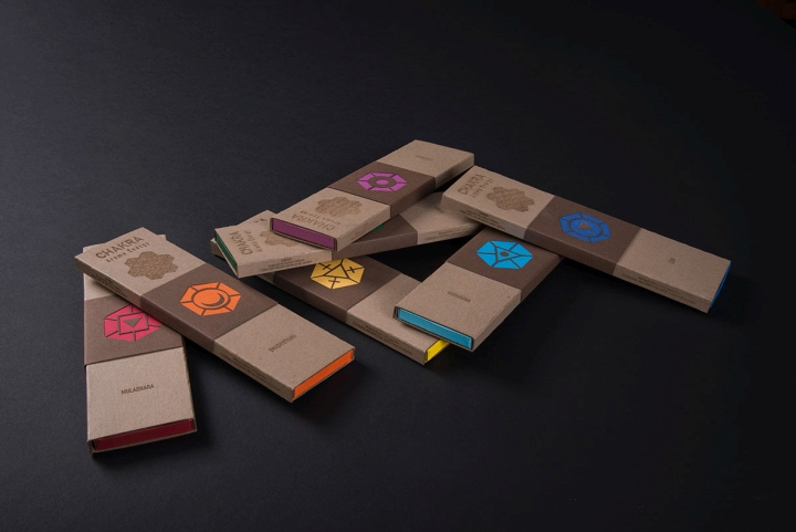 » Chakra Incense Packaging by Zach Pater
