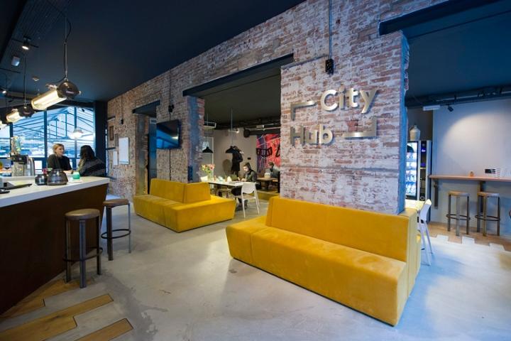 Cityhub hotel by studio berdutch amsterdam netherlands for Design amsterdam hotel
