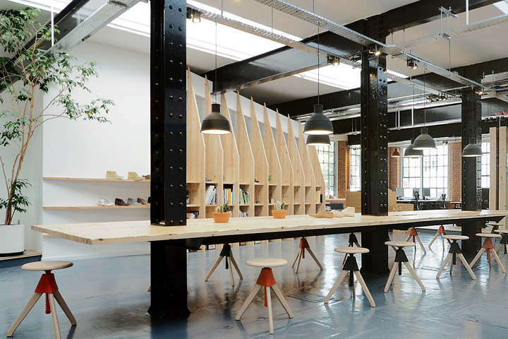 Clarks originals design studio by arro somerset uk for Industrial design studio