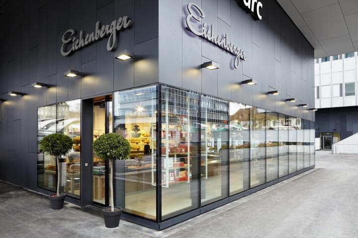 Confiserie eichenberger postparc by dioma bern for Design hotel bern