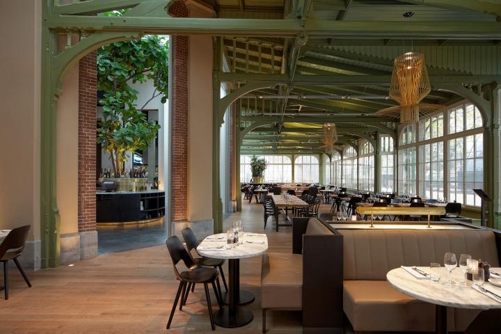 De Plantage Caf Restaurant By Studio Linse Amsterdam Netherlands