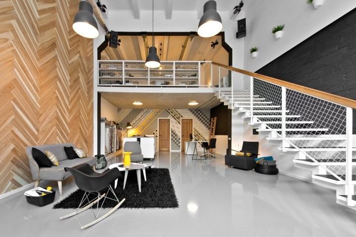Dekorama Loft studio By InArch Vilnius Lithuania
