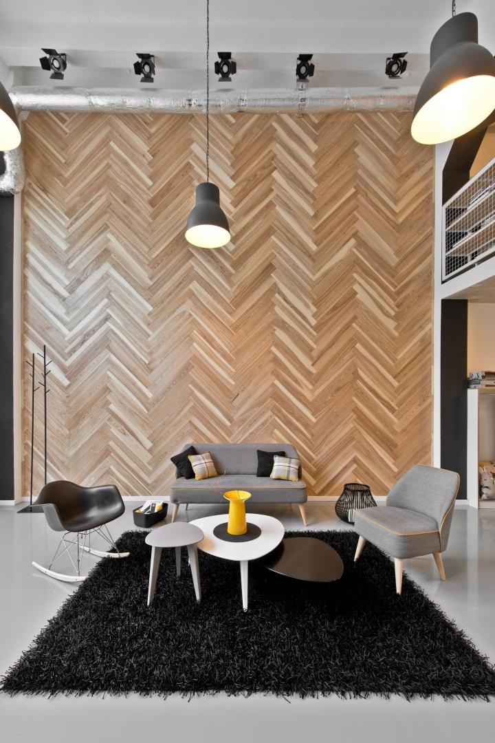 dekorama loft studio by inarch vilnius lithuania. Black Bedroom Furniture Sets. Home Design Ideas