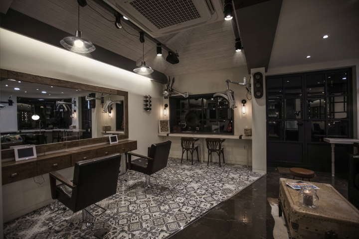 Design Room Hair Salon By Ssomoo Design Seoul South Korea