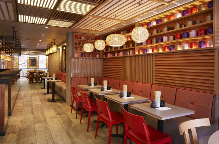 Dim t asian restaurant by design command london uk for Restaurant design london