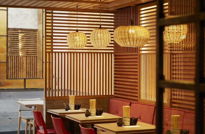 187 Dim T Asian Restaurant By Design Command London Uk