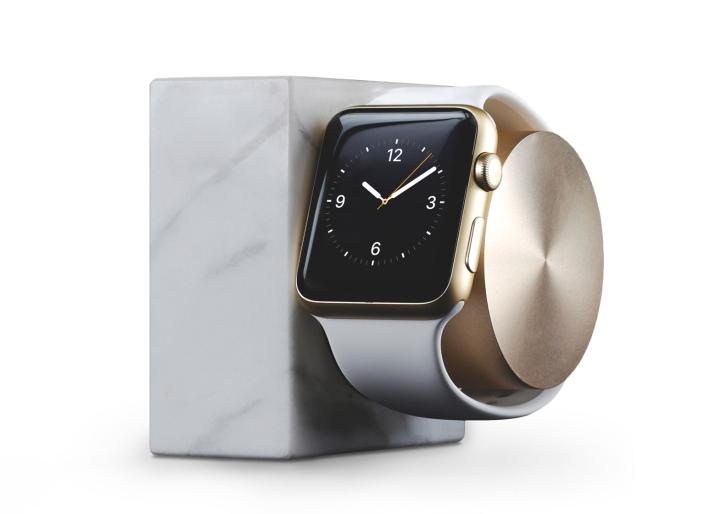 Image result for black marble apple watch dock