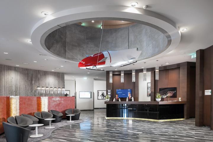Dorint Airport Hotel By Kitzig Interior Design Zurich Switzerland