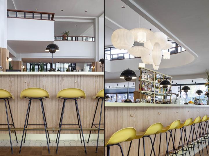Engels café bar restaurant by studio linse rotterdam