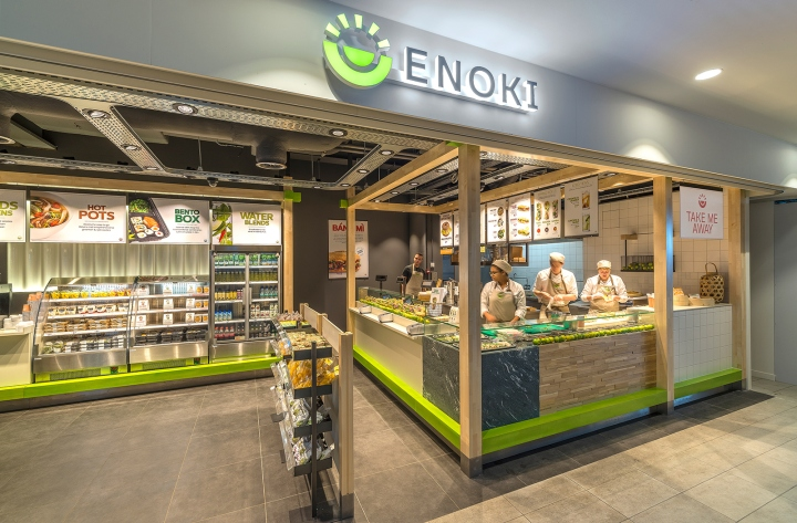the retail operator of the dutch rail network ns approached vbat to create an asian fast food formula in response to the voice of the modern traveller who - Fast Food Store Design