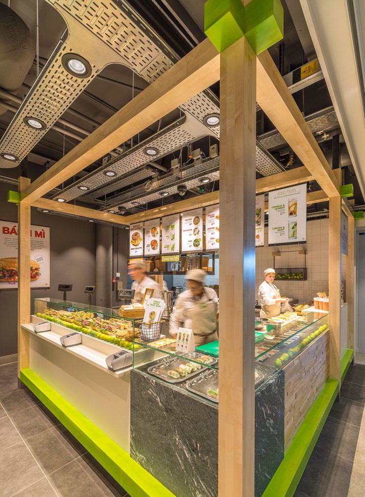 Enoki Fast Food Restaurant By Vbat Utrecht Netherlands Retail Design Blog