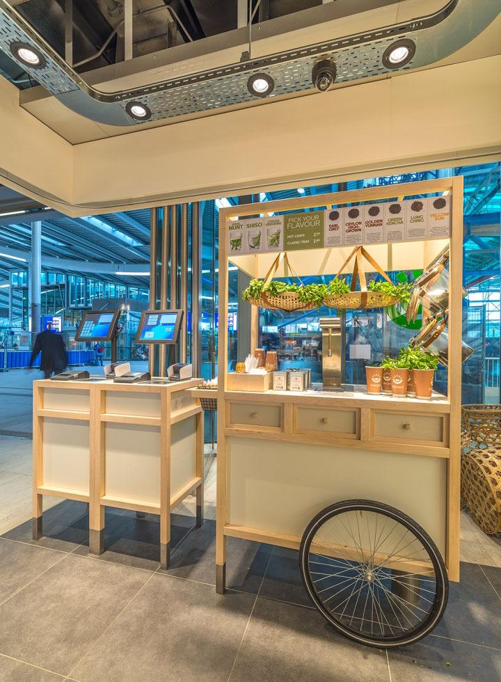 Enoki Fast Food Restaurant by VBAT, Utrecht – Netherlands