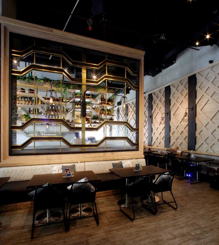 Eric kayser caf by metaphor interior jakarta indonesia for Interior design lasalle jakarta