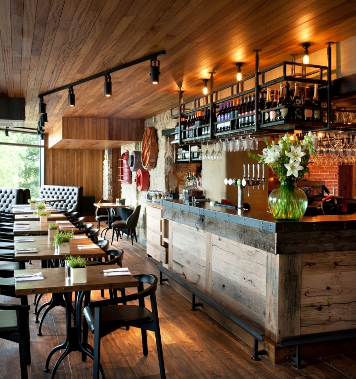 Gastropubs by oakman inns restaurants by people in - Interior leather bar free online ...