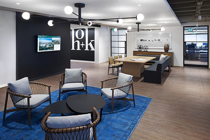 Hok offices toronto canada retail design