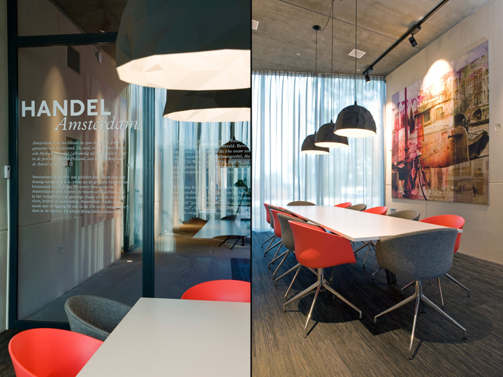 Handel Amsterdam Office By All In Living Netherlands Retail Design Blog