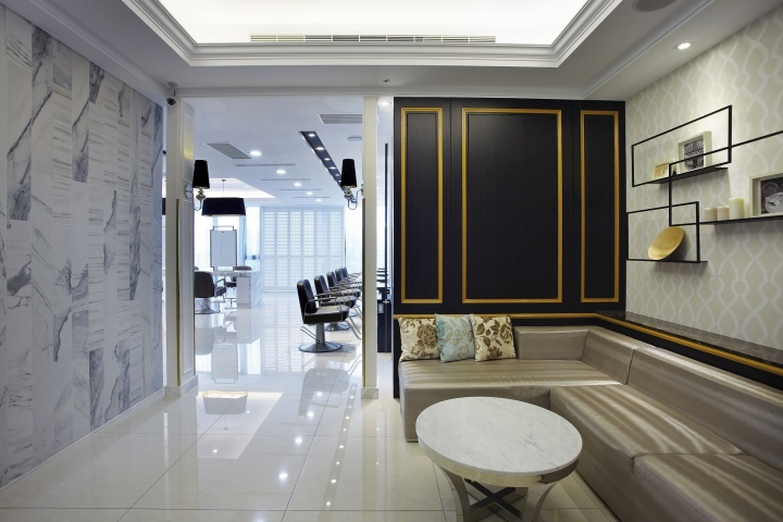 Beauty Salon Interior Design Classic