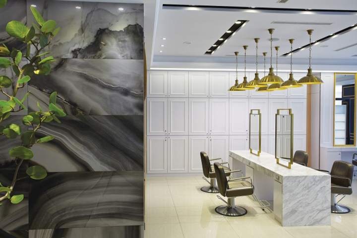 Taichung retail design blog for Hair salon interior design photo