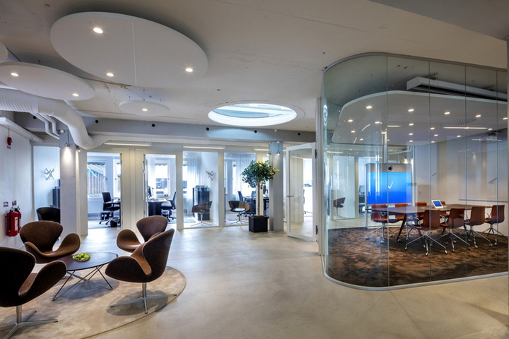 Ideas Has Developed The New Headquarters Offices Of Real Estate Company  Heimstaden Located In Malmö, Sweden.