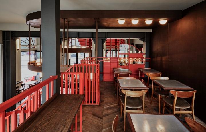 Holy smoke bar restaurant by studio modijefsky - Bar cuisine studio ...