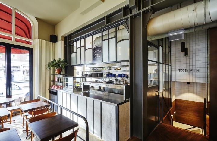 holy smoke bar restaurant by studio modijefsky rotterdam netherlands retail design blog. Black Bedroom Furniture Sets. Home Design Ideas