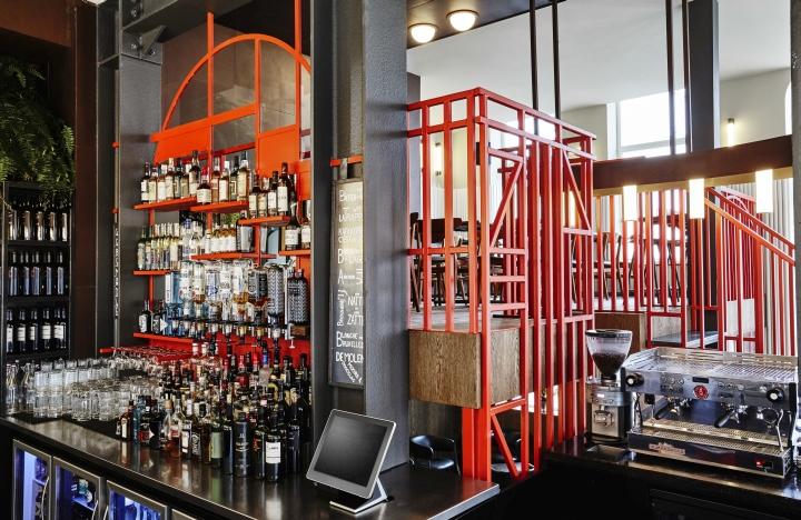 Holy smoke bar restaurant by studio modijefsky
