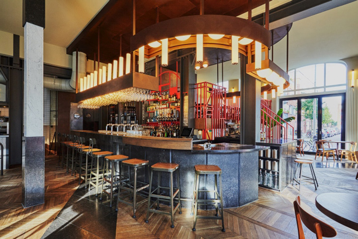 Holy smoke bar restaurant by studio modijefsky rotterdam netherlands - Bar cuisine studio ...