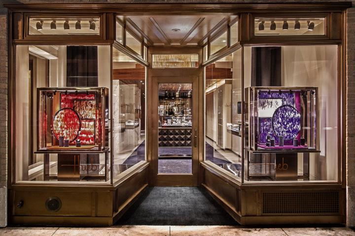 187 Hueb Jewellery Store By Callison New York City