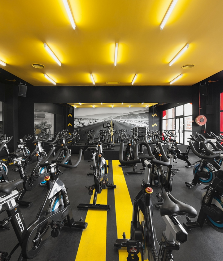Gym Interior Fitness Design And: » KALORIAS Club By Estúdio AMATAM, Montijo