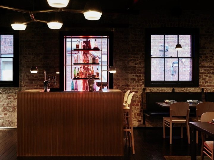 ASIAN BISTROS Lee Ho Fook Duckboard Place by Techne Architecture