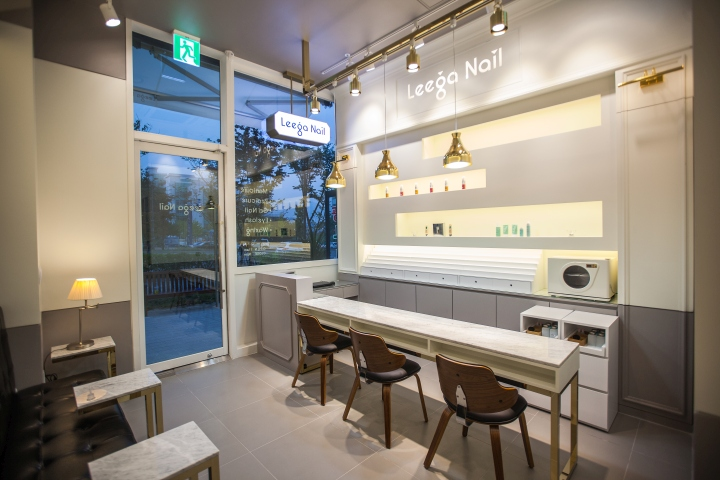 Leega Nail Salon by SSOMOO DESIGN, Suwon – South Korea » Retail ...