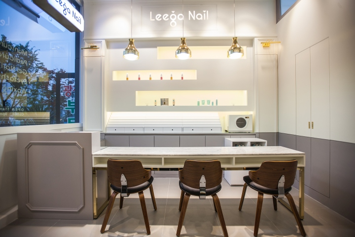 Leega Nail Salon by SSOMOO DESIGN, Suwon – South Korea