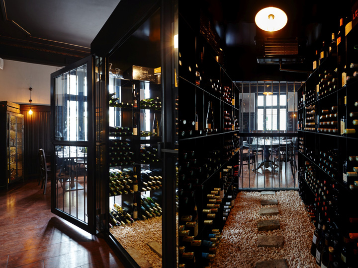 Design Hotels In Italia : Les innocents wine bar restaurant by agenceurs