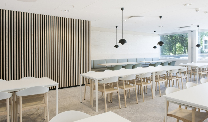 Lysaker Norway  City new picture : Lysakerbuen Office Public Areas & Canteen by ZINC, Lysaker – Norway