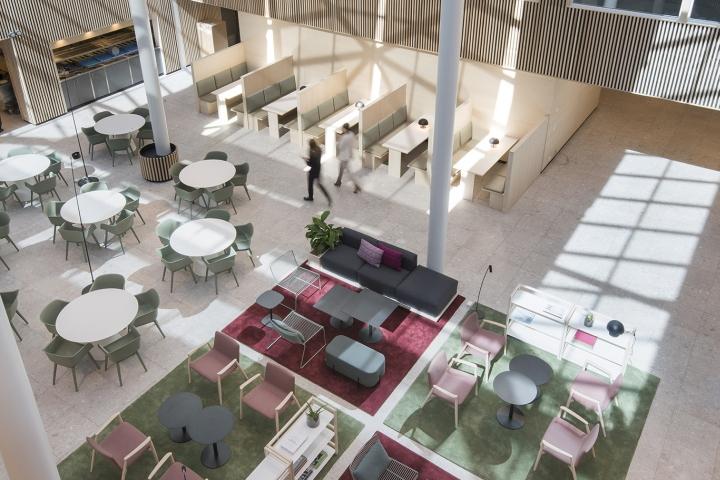 lysakerbuen office public areas canteen by zinc lysaker norway buildinglink offices design republic