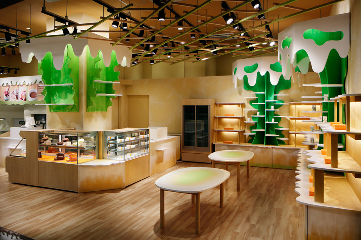 Food retail design blog for Sustainable interior design products