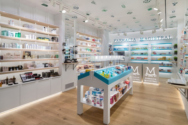Pharmacy Design Ideas pharmacy design retail design store design pharmacy shelving pharmacy furniture Magistral Pharmacy By Marketing Jazz Murcia Spain