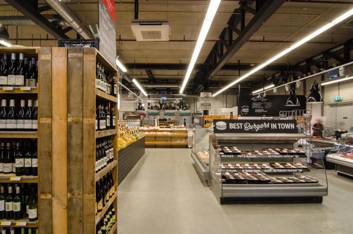 Marqt supermarket by Standard Studio Amsterdam Netherlands
